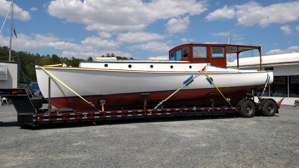 42′ Custom wooden boat