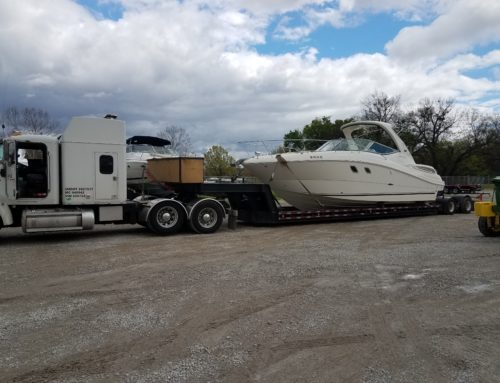 Sea Ray 330 Boat Transport